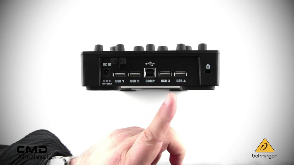 Behringer CMD MM-1 - USB csatlakozások