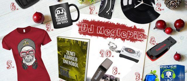Karácsonyi meglepetés ajándék ötlet DJ-knek, producereknek