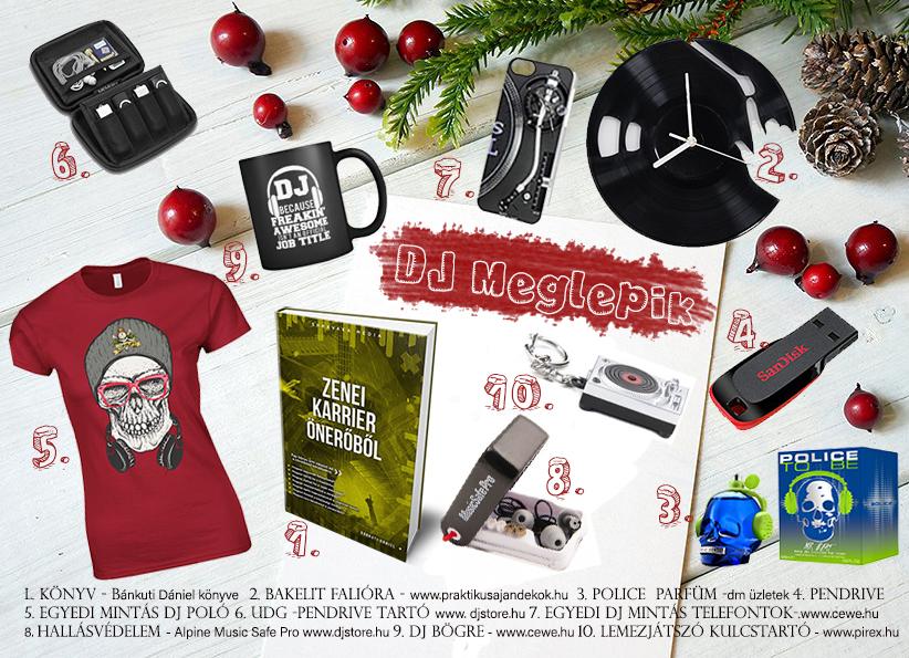 Karácsonyi meglepetés ajándék ötlet DJ-knek 8339d48d4d