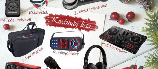 TOP10 karácsonyi DJ ajándék útmutató