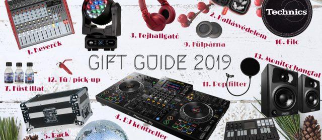 """13+1 """"AJÁNDÉK LISTA"""" a DJ Store csapattól"""
